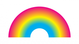 how to make a blended rainbow in illustrator