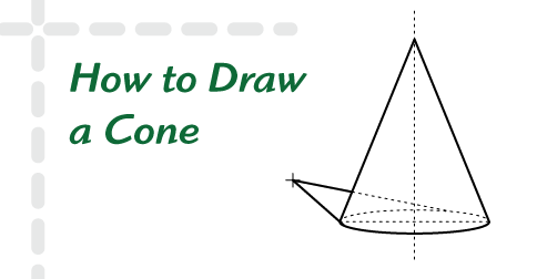 How to Draw a Cone | HelloArtsy.com