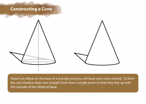 How to Draw a Cone | Constructing a Cone | HelloArtsy.com
