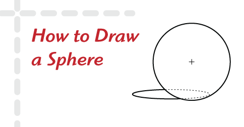 How to Draw a Sphere | Free Drawing Lessons for Beginners | helloartsy.com