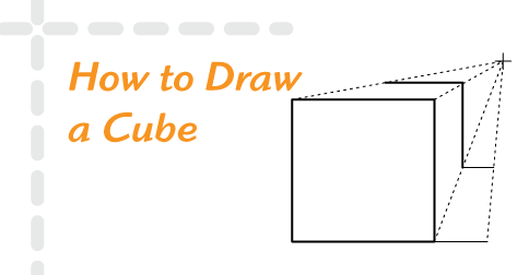 How to Draw a Cube| Free Drawing Lessons for Beginners | helloartsy.com