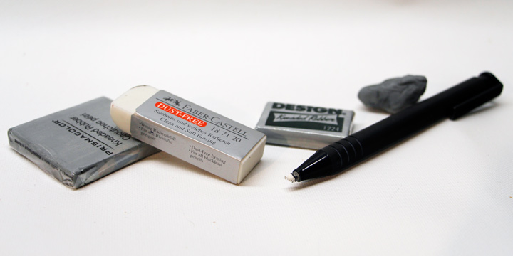 Drawing Erasers | Erasers You Need | Helloartsy.com