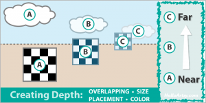 Creating Depth in Your Artwork : 4 Easy Ways to Draw Depth