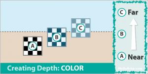 Creating Depth in Artwork: Color