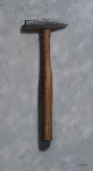 Cross Pein Hammer | Oil Painting by John Morfis