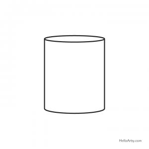 correctly drawn cylinder