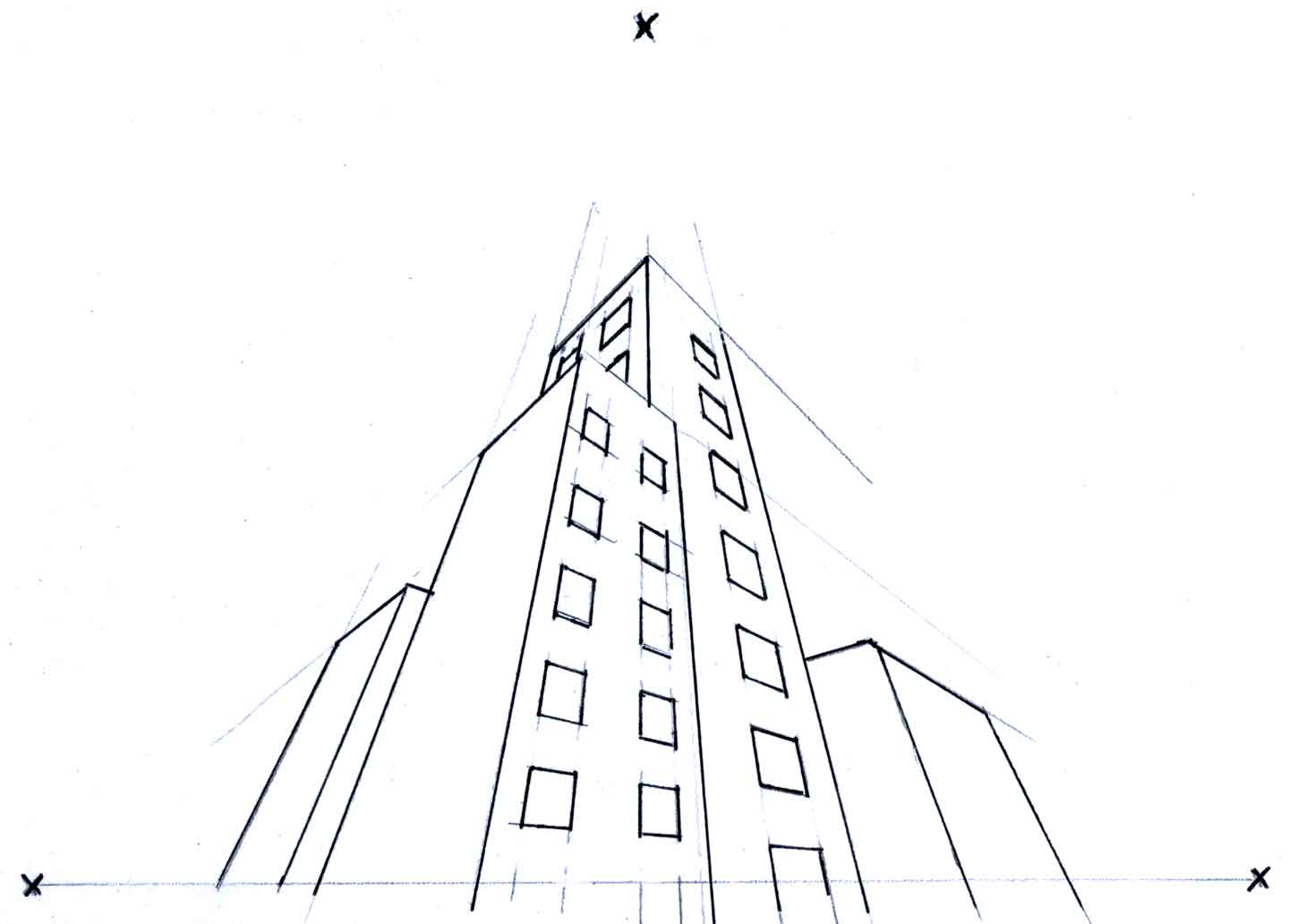 Perspective Drawings Of Buildings linear perspective drawing: overview of 3 drawing types