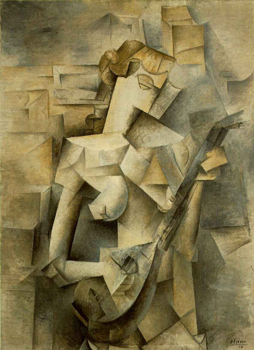 Girl With a Mandolin | Picasso | The Artist's Intent - helloartsy.com
