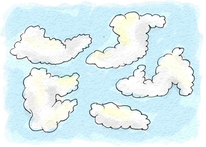 Think of What To Draw | Let The Sky Speak To You | Helloartsy.com