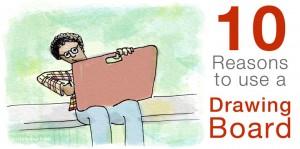 10 Reasons to use a Drawing Board | helloartsy.com