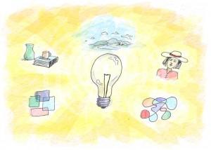 how to think of ideas | helloartsy.com