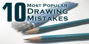 10 Most Popular Drawing Mistakes • learn how to draw the right way!
