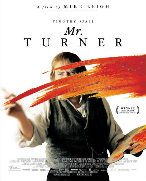 helloartsy movie review: Mr. Turner