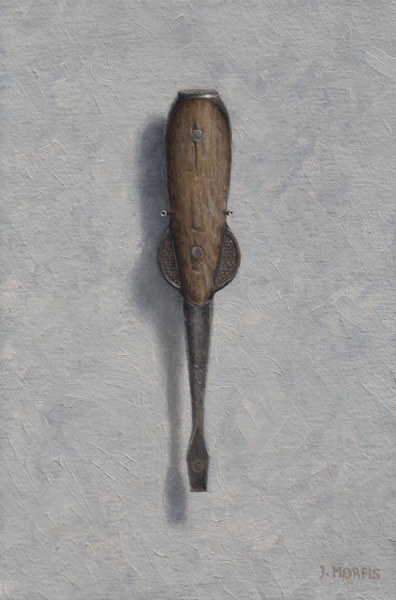 H. D. Smith's Screwdriver Painting • Oil Painting by John Morfis