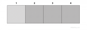 Crosshatching a Value Scale (Step 6) | The easy way to learn cross hatching | HelloArtsy.com