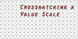 Crosshatching a Value Scale | The easy way to learn cross hatching | HelloArtsy.com