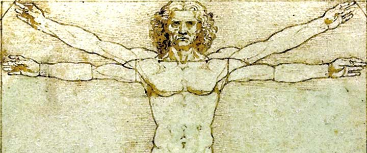 Drawing Lessons: DaVinci's Vitruvian Man