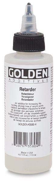 Golden's Acrylic Retarder Medium
