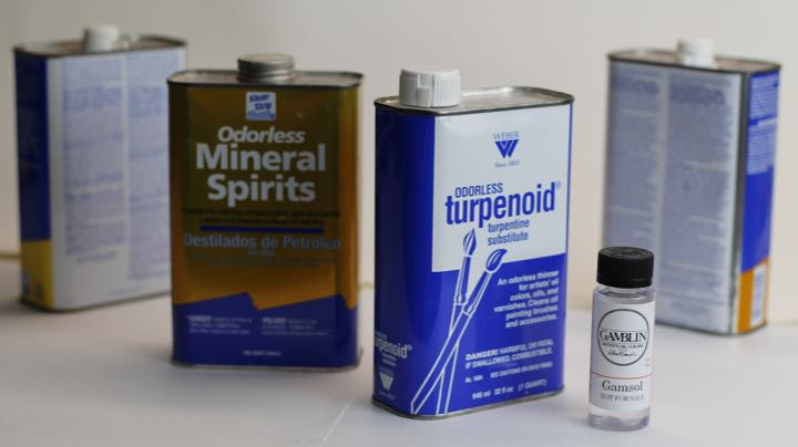 Thinners for Oil Paints