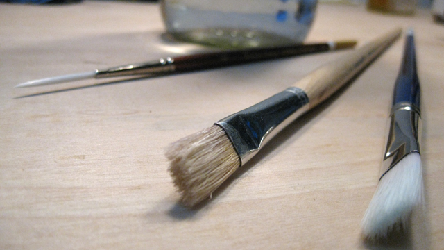 Brushes for Oils vs. Acrylics