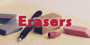 Erasers: The History and Usage for Erasing Artwork