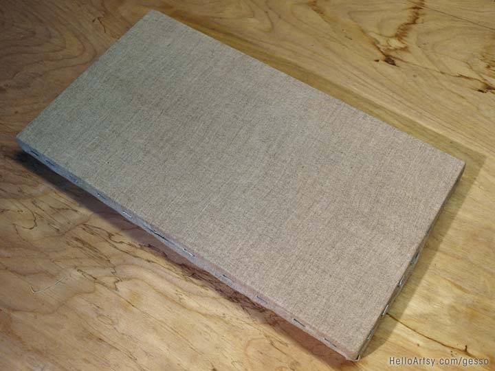 Bare Linen Canvas