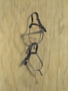 English Riding Spurs Oil Painting