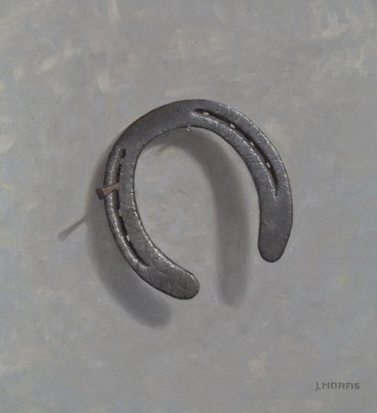 Aristocrat's Misfortune (horseshoe painting #5)