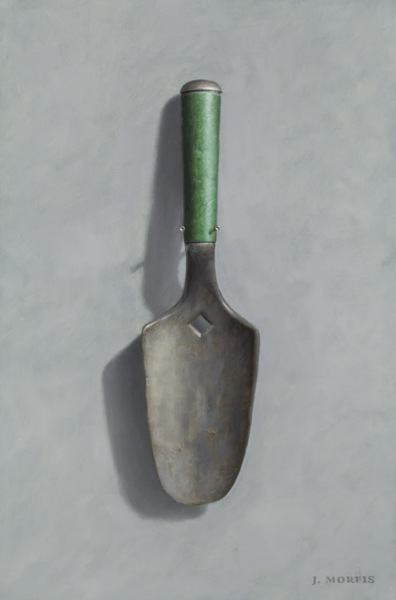 Mom's Garden Trowel - Oil - by John Morfis