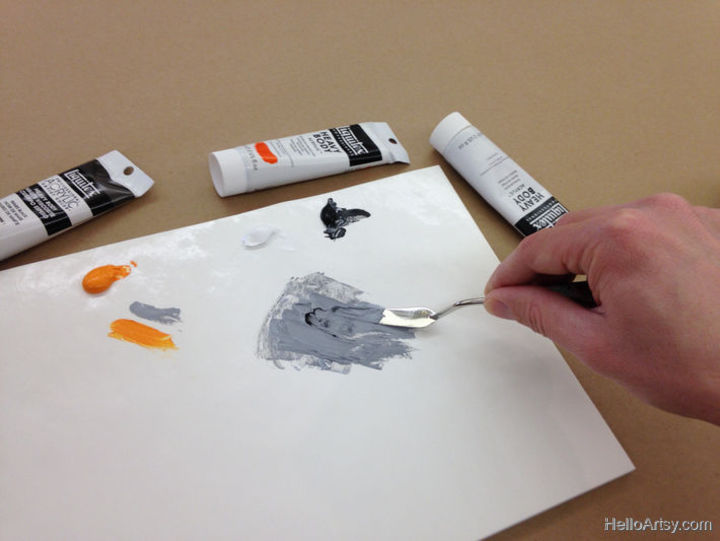 How To Mix Brown Paint: Step 5