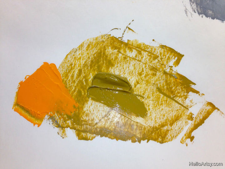 How To Mix Brown Paint: Step 8