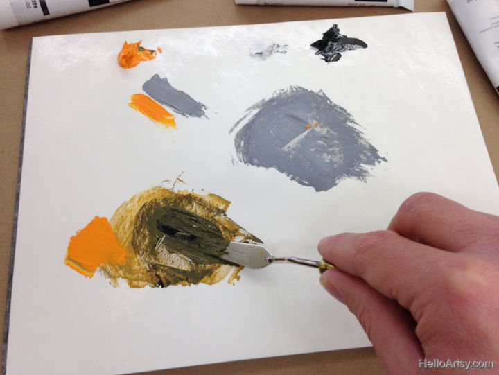 How To Mix Brown Paint: Step 9
