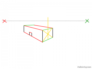 Two Point perspective Drawing: How To Guide - Step 11