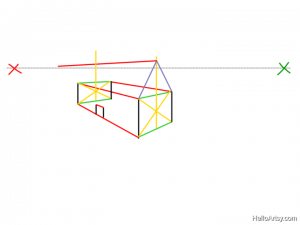 Two Point perspective Drawing: How To Guide - Step 15