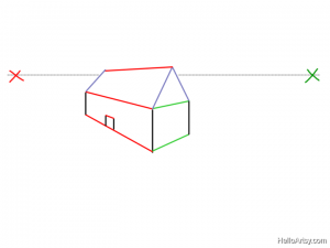 Two Point perspective Drawing: How To Guide - Step 17