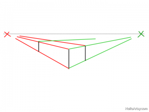 Two Point perspective Drawing: How To Guide - Step 6