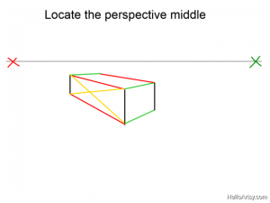 Two Point perspective Drawing: How To Guide - Step 8
