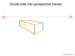 Two Point perspective Drawing: How To Guide - Step 9