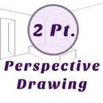 2 Point Perspective Drawing: Step by Step