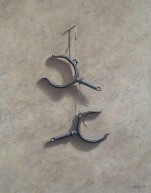 """""""The Oar Locks"""" • oil painting • by John Morfis"""