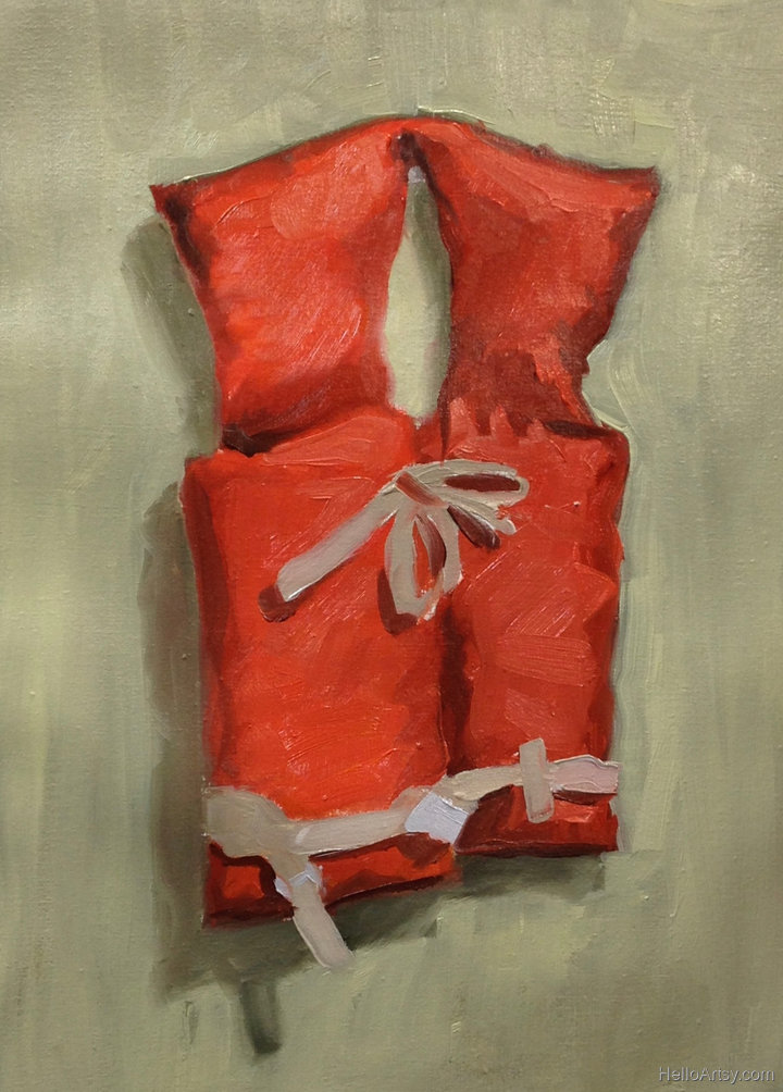 poster study for Life Jacket Painting