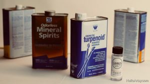 oil painting thinners