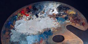 oil painter's palette