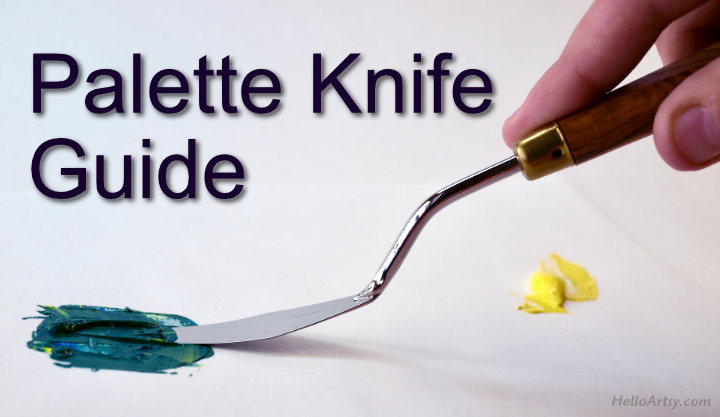Palette knife Guide