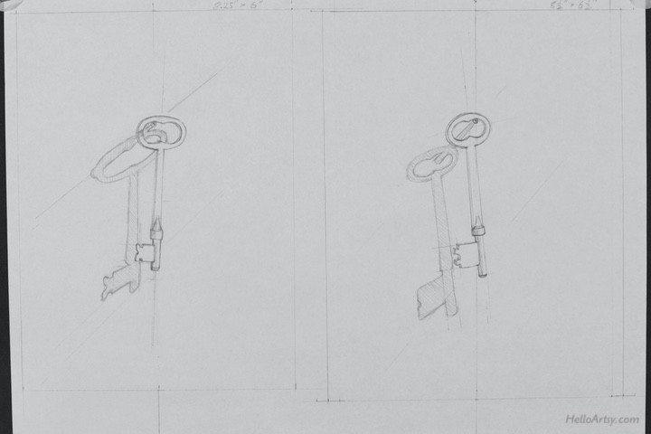 drawings of keys