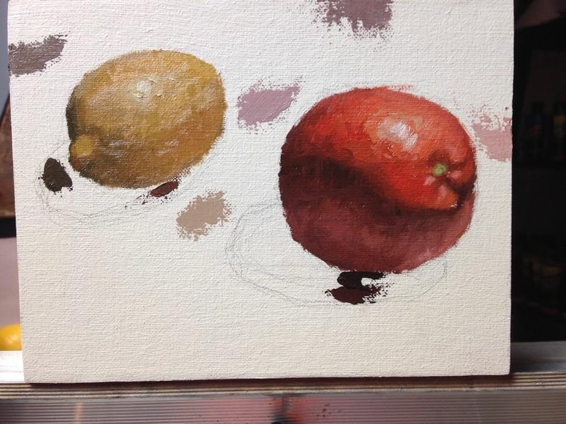 citrus painting step 3