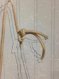 toy cap gun rope in progress