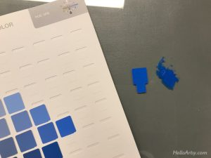Cerulean Blue Munsell Notation