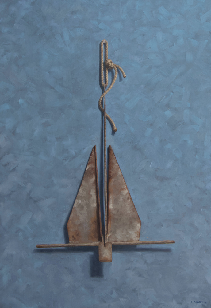 The Danforth Anchor - Oil Painting by John Morfis