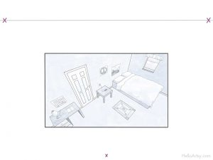 Room in 3 Point Perspective - step-10